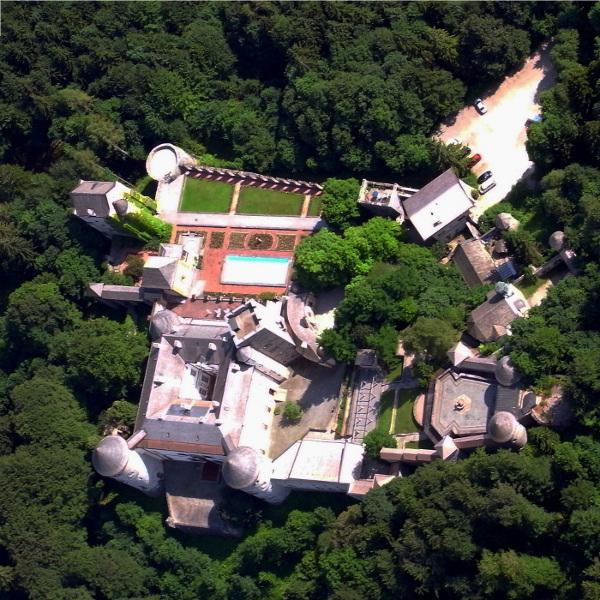 castle top view